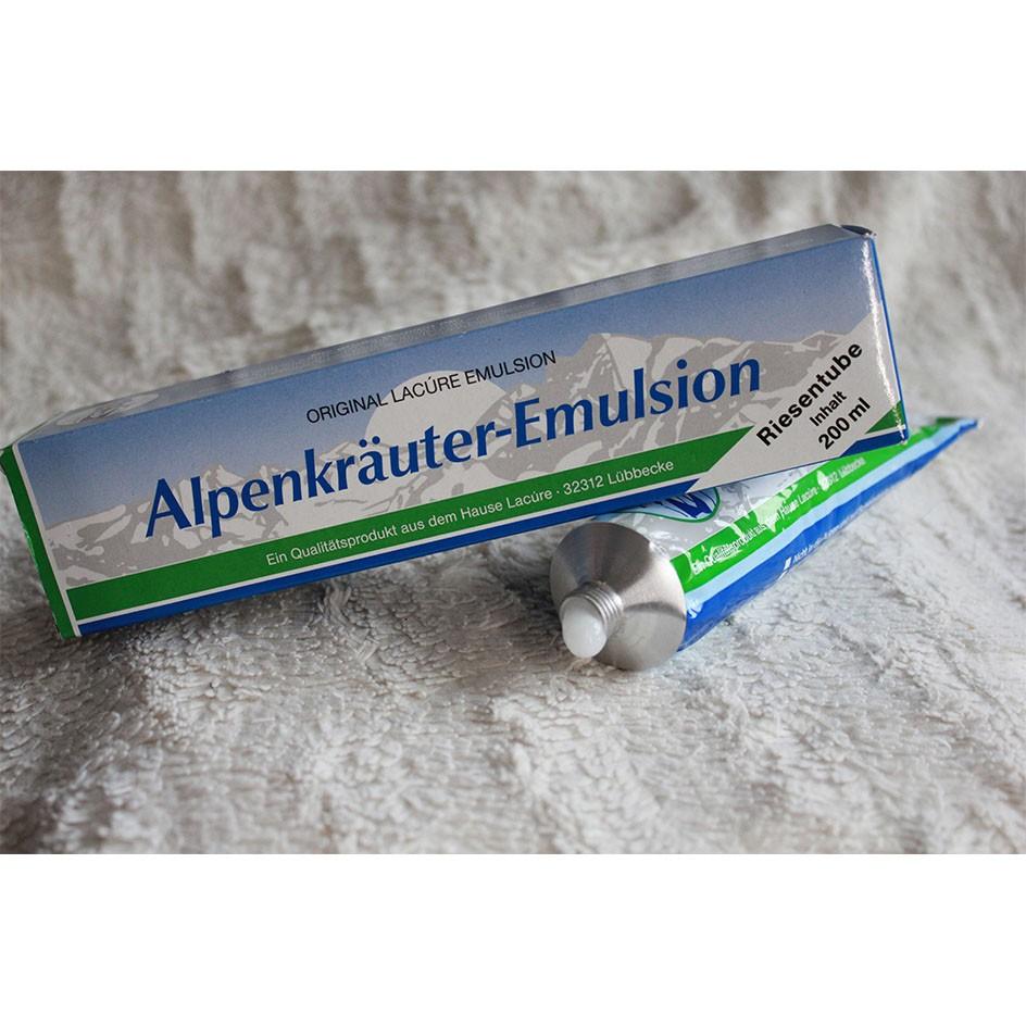 emulzija alpskih zelišč