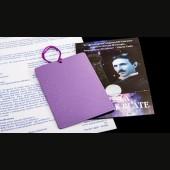 teslova purpurna plošča kozmus
